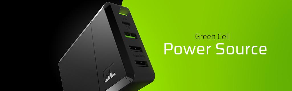 Green Cell GC Power Source – mehrere Ladegeräte durch ein einziges ersetzen