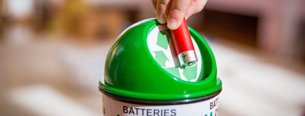 batterie recykling