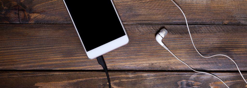 iphone laden